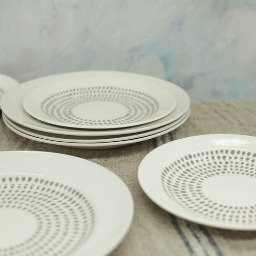 Dew Drop Dinnerware Set 12 Pieces