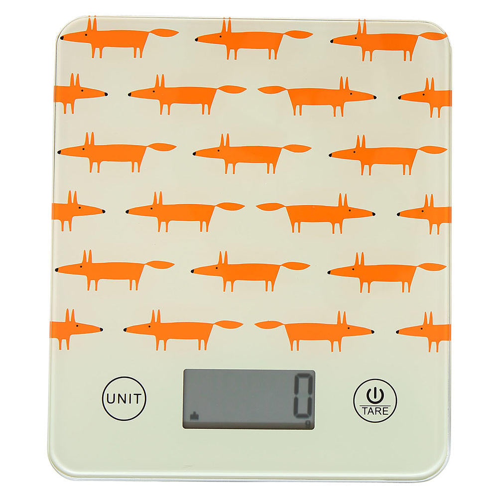 Mr Fox Digital Kitchen Scales - Stone