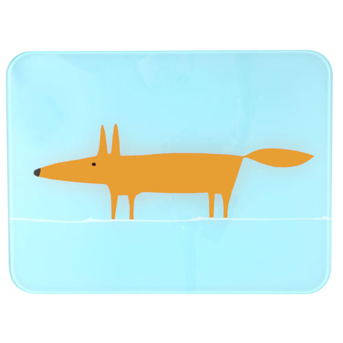 Mr Fox Worktop Saver - Blue