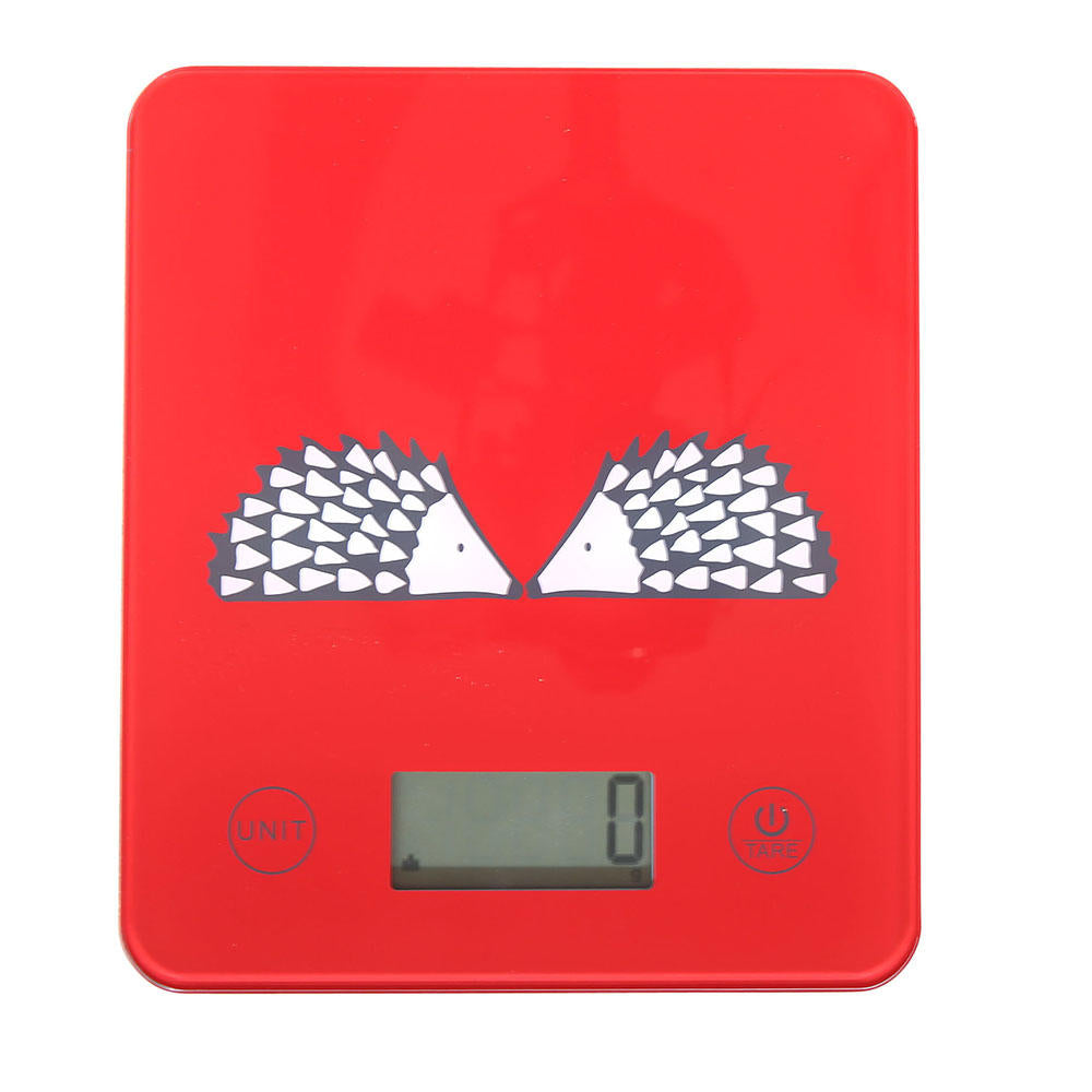 Spike Digital Kitchen Scales - Red