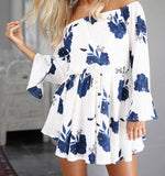 All Off the Shoulder and Ruffles Dress