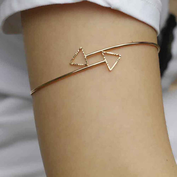 Arrow Cuff Bracelet - Upper Arm