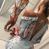 Casual Day Floral Romper