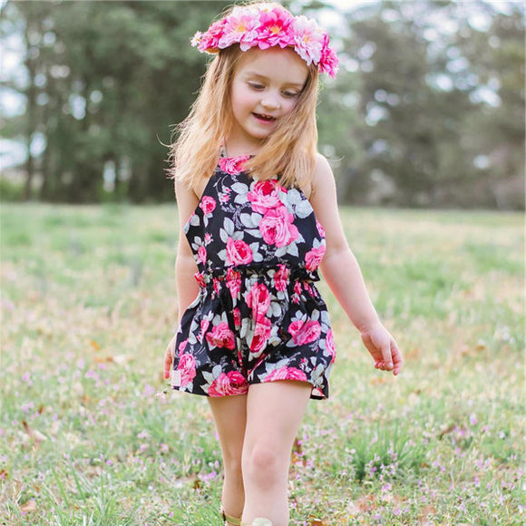 Roses in June Romper - 9M - 3T