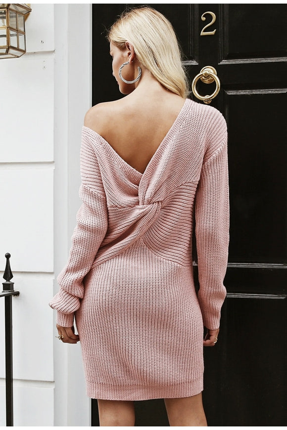 Knot Another Sweater Dress
