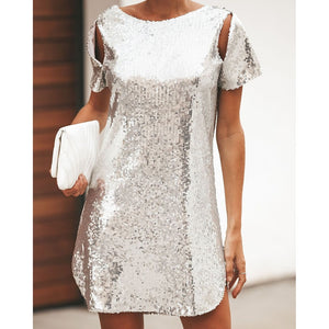 And We Laughed Sequin Dress