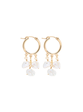 Load image into Gallery viewer, Love Isabelle - Fleur Hoops