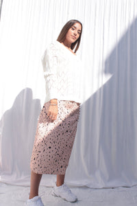 LOLLY skirt - saia (peach)