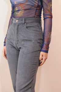 Calças CJ BLUE - high rise jeans CORD