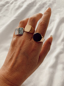 2 ROCK anel •  ring
