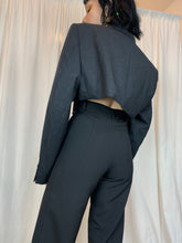 Load image into Gallery viewer, Calças EVA • suit trousers || preto • black