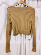 Load image into Gallery viewer, WAVE camisola malha. Knit top