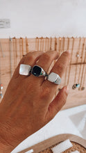 Load image into Gallery viewer, SQUARE VINTAGE ring -  anel QUADRADO