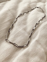Load image into Gallery viewer, SQUARE CHAIN SILVER necklace • colar