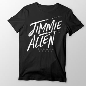 Jimmie Allen Black T-shirt
