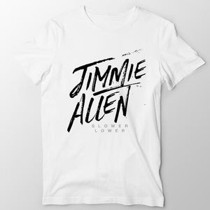 Jimmie Allen White T-shirt