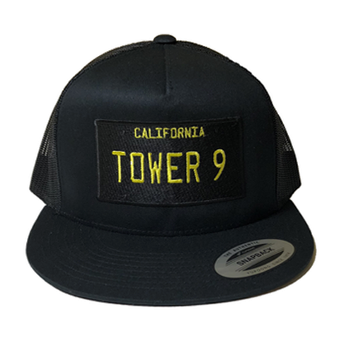 T9 License Plate Snap Back Trucker Hat
