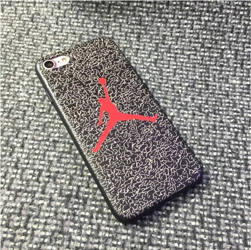Michael Jordan Jersey 23 Silicone Phone Cases for iPhone 5 5S SE 6 6s Plus 7 7 Plus 8 8 Plus X XS XR XS MAX Cover