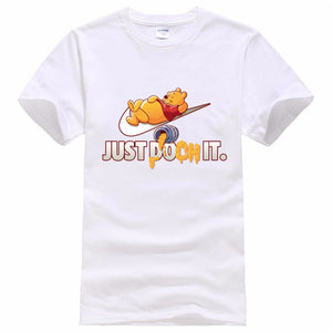 2016 funny tee cute t shirts homme Pumba men short sleeves cotton