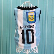 Load image into Gallery viewer, Football Pet Clothes World Cup Jersey Outdoor Sportswear