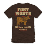 Men's Texas Steer T-Shirt - Back