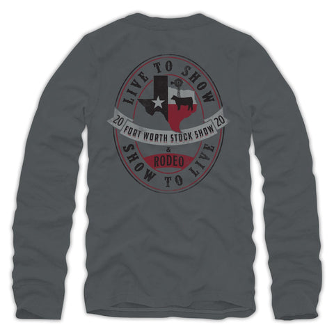 Live To Show Long Sleeve T-Shirt - Back