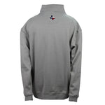 Men's Outerwear Fleece State Flag Quarter Zip - Back