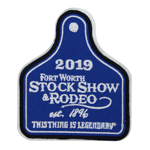 Novelty 2019 Ear Tag Patch - Front