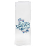 Novelty Bluebells Tea Towel - Front