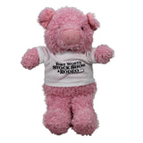 Novelty 2019 Plush Pig - Front
