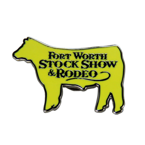 Novelty 2019 Cattle Lapel Pin - Front