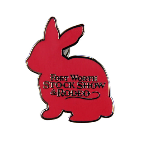 Novelty 2019 Rabbit Lapel Pin - Front