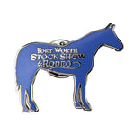 Novelty 2019 Horse Lapel Pin - Front