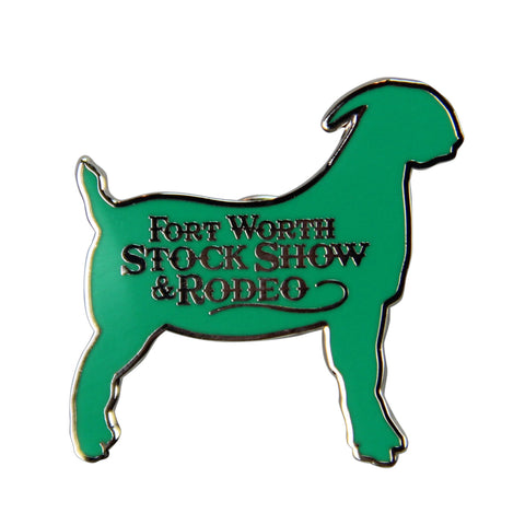 Novelty 2019 Goat Lapel Pin - Front