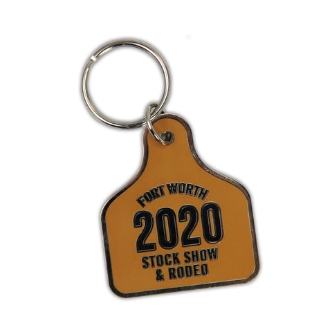 2020 Ear Tag Keychain - Front