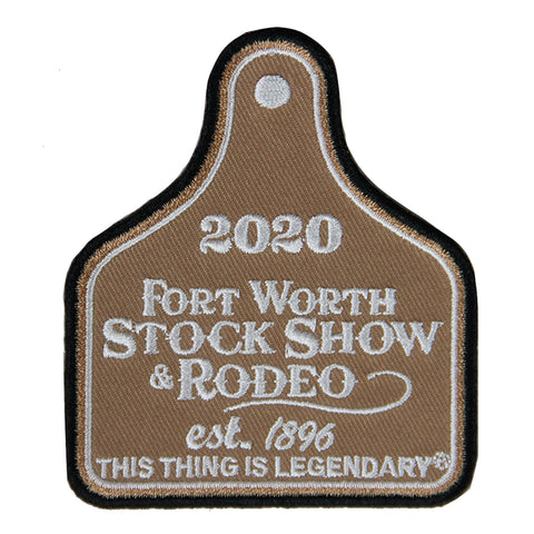 2020 Ear Tag Patch - Front