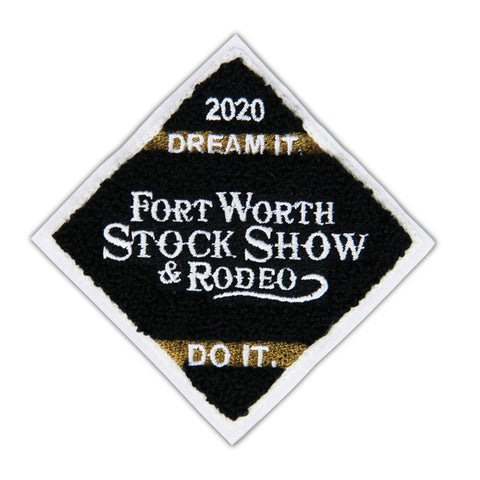 2020 Chenille Patch - Front