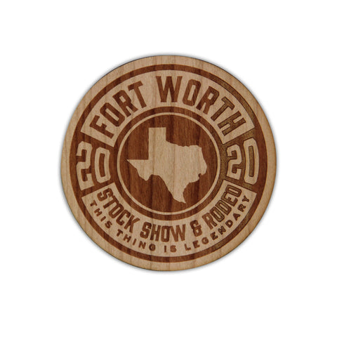 2020 Wood Decal - Front