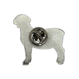 2020 Lamb Lapel Pin - Back