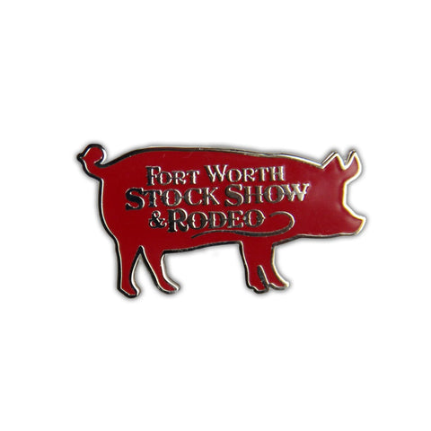 2020 Pig Lapel Pin - Front