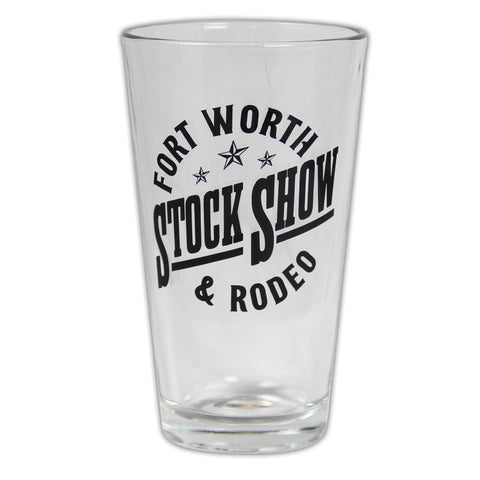 Texan Pint Glass - Front