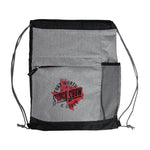 Roadtrip Drawstring Bag - Front
