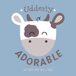 Boys Udderly Adorable Onesie - Detail