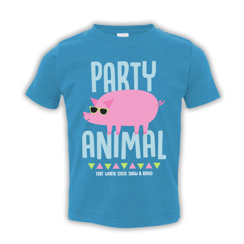 Toddler Party Pig T-Shirt - Front