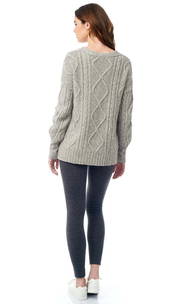 The Oversized Cable Sweater