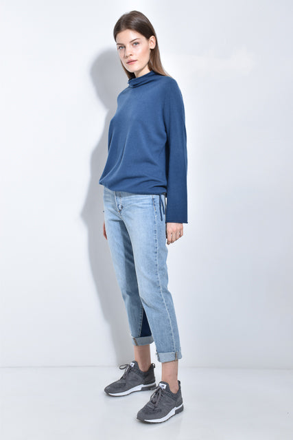 The Draped Neck Sweater