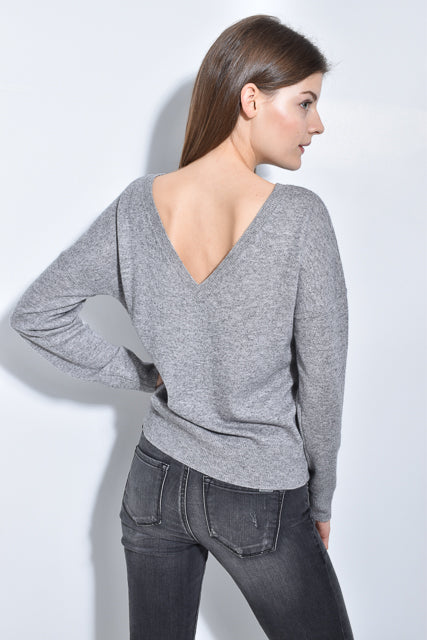 The V-Back Sweater