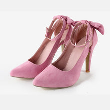 Pointed Toe Buckle Strap Heels