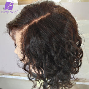 Short Water Wave Human Hair Wig