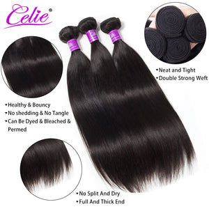 Celie Straight Brazilian Hair Extensions